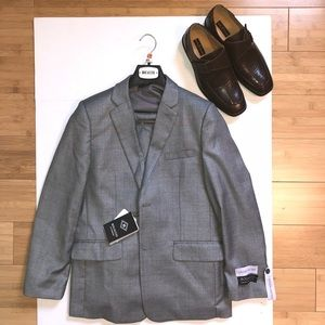 Other - GREY WINDOW PANE SUIT